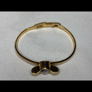 Marc Jacobs Gold Chrystal Flower Bracelet